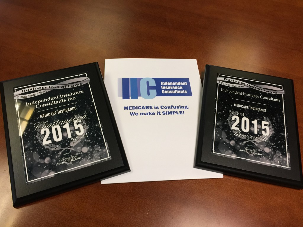 IIC Best of Knoxville and Chattanooga awards picture